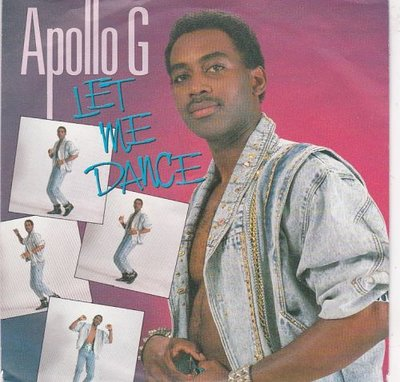 Apollo G - let me dance + Lonely nights (Vinylsingle)