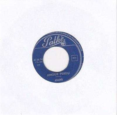 Adamo - Amour perdu +  J'aime une fleur (Vinylsingle)