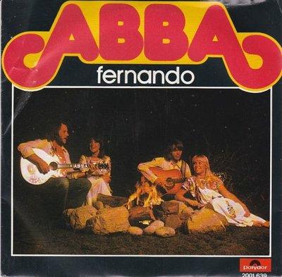 Abba - Fernando + Dance (while the music still goes on) (Vinylsingle)