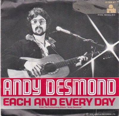 Andy Desmond - Each And Every Day + Hole In The Wall (Vinylsingle)