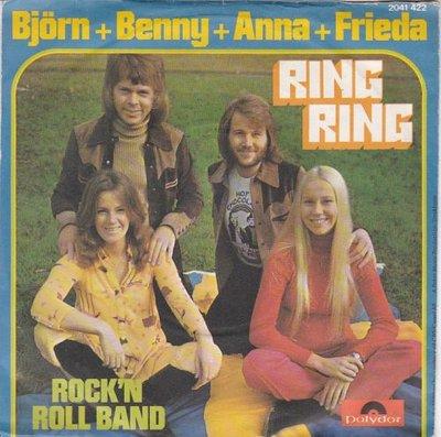 Abba - Ring Ring + Honey Honey (Vinylsingle)