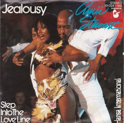 Amii Steward - Jealousy + Step into the love line (Vinylsingle)