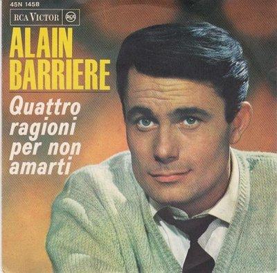 Alain Barriere - Quattro Ragioni Per Non Amarti + Vorrei (Vinylsingle)
