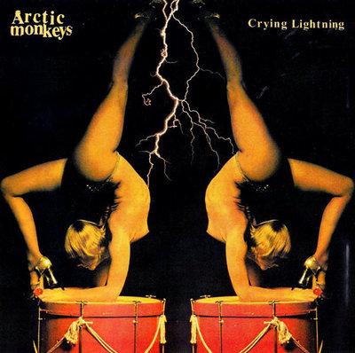 Arctic Monkeys - Crying Lightning + Red Right Hand (Vinylsingle)