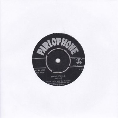 Adam Faith - Made for me + We are in love (Vinylsingle)
