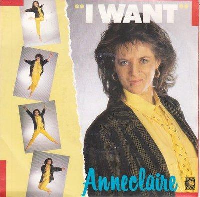 Anneclaire - I Want + (Instrumental) (Vinylsingle)