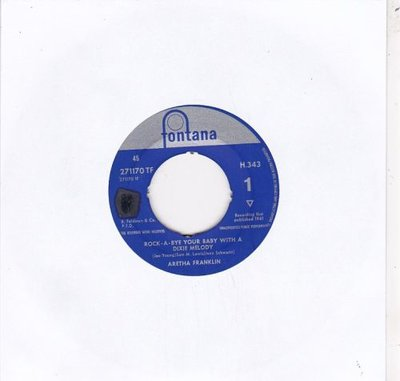 Aretha Franklin - Rock-A-Bye Your Baby With A Dixie Melody + Operation Heartbreak (Vinylsingle)