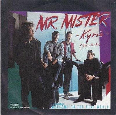 Mr. Mister - Kyrie + Run to her (Vinylsingle)