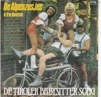 Alpenzusjes - Tiroler babysitter-song + De Jodeltik (Vinylsingle)