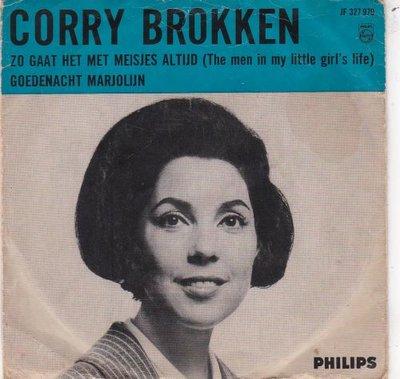 Corry Brokken - Zo gaat het met meisjes altijd + Goedenacht Marjolijn (Vinylsingle)