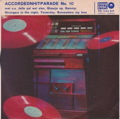 Scala Trio - Accordeonhitparade no. 10 (Vinylsingle)