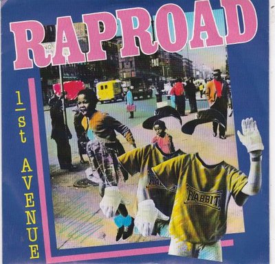 1st Avenue - Raproad + (Instrumental Version) (Vinylsingle)