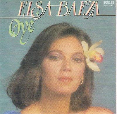 Elsa Baeza - Oye + Amorero (Vinylsingle)