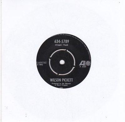 Wilson Pickett   - 634-5789 + That's A Man's Way (Vinylsingle)