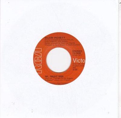 Wilson Pickett   - Mr. Magic Man + I Sho' Love You (Vinylsingle)