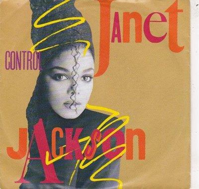 Janet Jackson - Control + Fast girls (Vinylsingle)