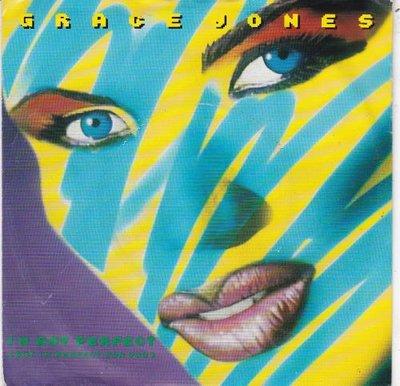Grace Jones - I'm not prefect + Scary but fun (Vinylsingle)