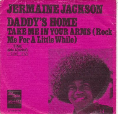 Jermaine Jackson - Daddy's home + Take me in your arms (Vinylsingle)