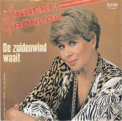 Anneke Gronloh - De zuidenwind waait + Vogel vlieg ver over de blauwe zee (Vinylsingle)