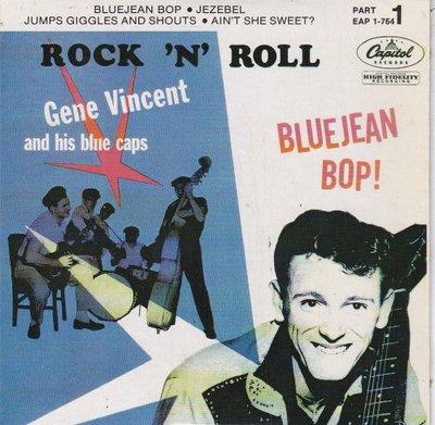 Gene Vincent - Gene Vincent And His Blue Caps Play Bluejean Bop (EP) (Vinylsingle)