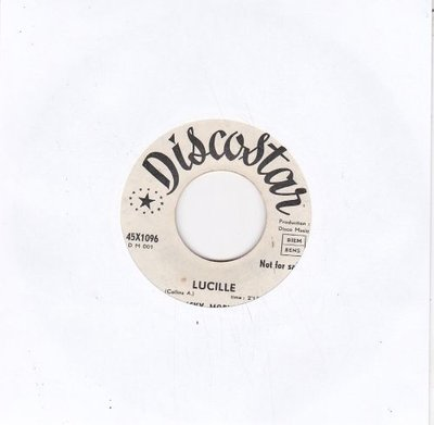 Ricky Morvan - Lucille + I don't know (Vinylsingle)