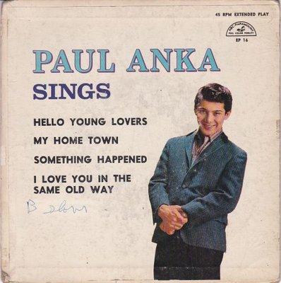 Paul Anka - Paul Anka Sings (EP) (Vinylsingle)