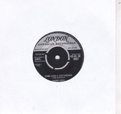 Duane Eddy - Some kind-a earthquake + First love, first tears (Vinylsingle)