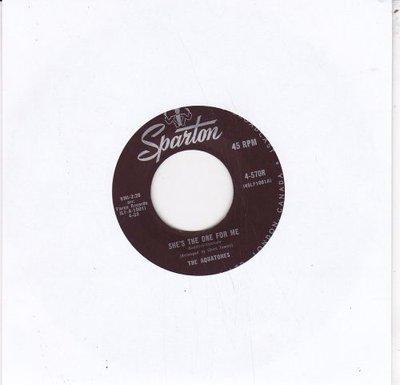 Aquatones - She's The One For Me + You (Vinylsingle)