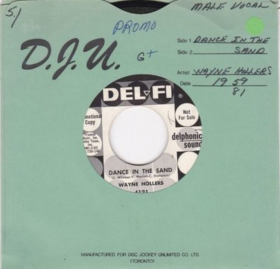 Wayne Hollers - Dance In The Sand + Why (Vinylsingle)