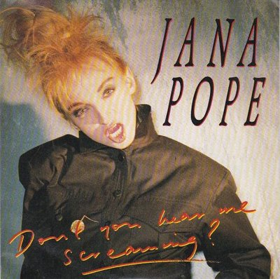 Jane Pope - Don't You Hear Me Screaming + You Won't Believe It (Vinylsingle)