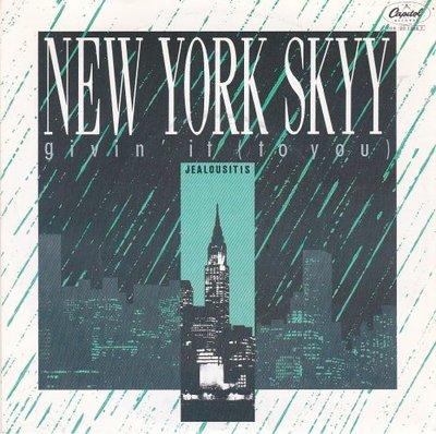 New York Skyy - Givin' it + Jealousitis (Vinylsingle)