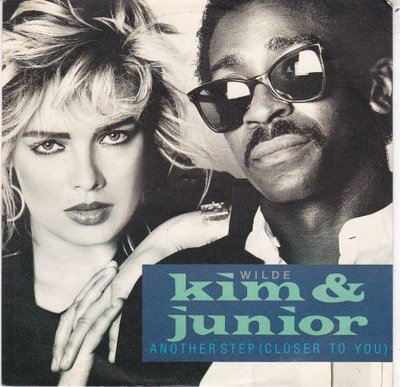 Kim Wilde & Junior - Another step + Hold back (Vinylsingle)