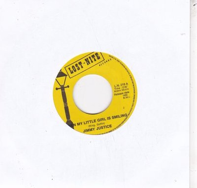 Jimmy Justice - When my little girl is smiling + Frantic (Vinylsingle)