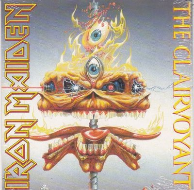 Iron Maiden - The Clairvoyant + The prisoner (live) (Vinylsingle)