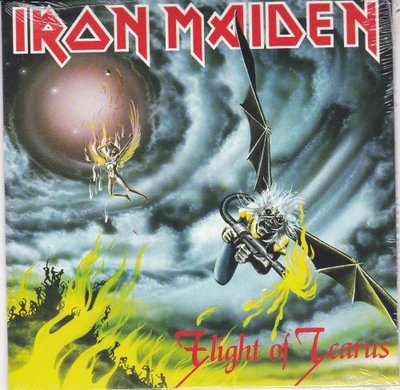 Iron Maiden - Flight of Icarus + I've got the fire (Vinylsingle)