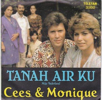 Cees & Monique - Tanah Air Ku + De soldaat van het knil (Vinylsingle)