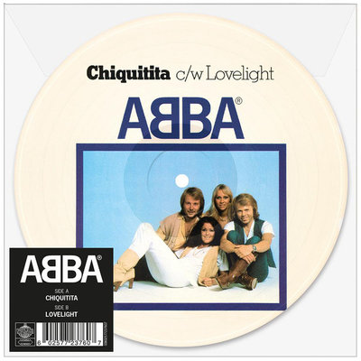 Abba - Chiquitita + Lovelight (Vinylsingle)