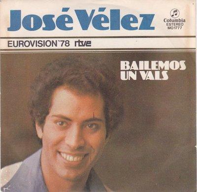 Jose Velez - Bailemos Un Vals + Por Que Tu Fuiste Pa (Vinylsingle)