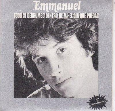 Emmanuel - Todo Se Derumbo Dentro De Mi + El Dia Que Puedas (Vinylsingle)