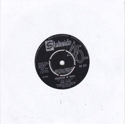 Gene Pitney - Princess in rags + Amore mio (Vinylsingle)