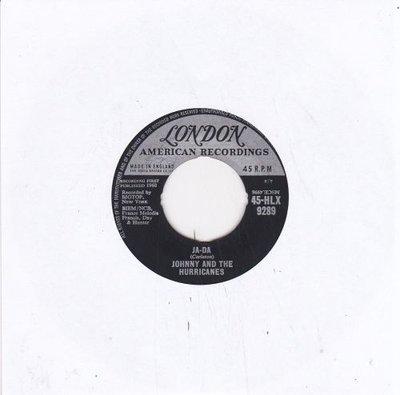 Johnny & the Hurricanes - Ja da + Mr. Lonely (Vinylsingle)