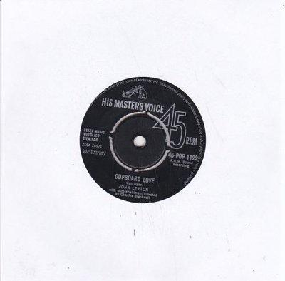 Johnny Leyton - Cupboard Love+ Land Of Love (Vinylsingle)