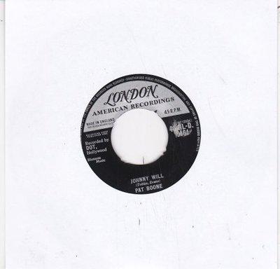 Pat Boone - Johhny Will + Just let me dream (Vinylsingle)