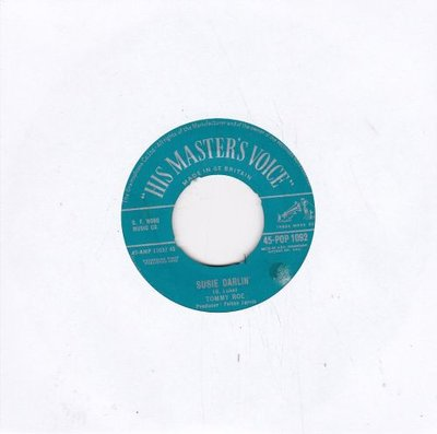 Tommy Roe - Susie Darlin' +Piddle de pat (Vinylsingle)