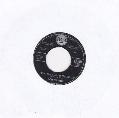 Skeeter Davis - I'm falling too + No never (Vinylsingle)