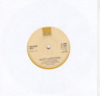 Beach Boys - California saga / California + Funky pretty (Vinylsingle)