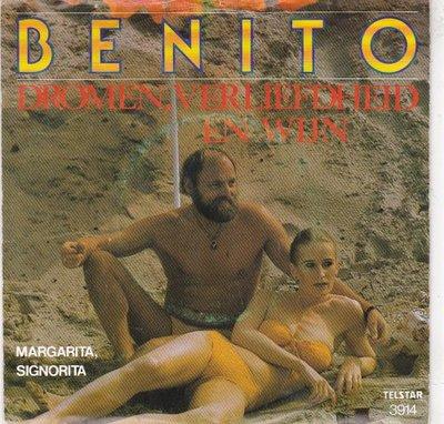Benito - Dromen, verliefdheid en wijn + Margarita, Signorita (Vinylsingle)