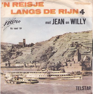 Jean & Willy - Een reisje langs de Rijn  4 (Vinylsingle)