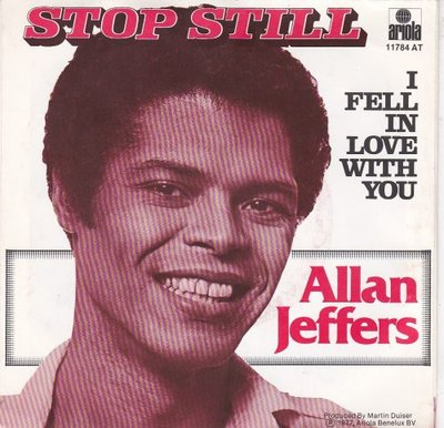 Allan Jeffers - Stop still + I fell in love with you (Vinylsingle)