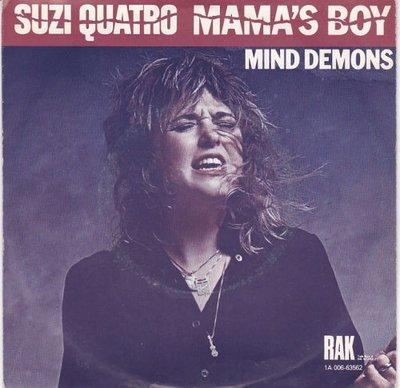 Suzi Quatro - Mama's  boy + Mind demons (Vinylsingle)